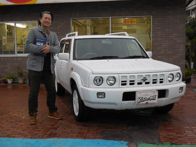 ホワイトフォルザ納車!