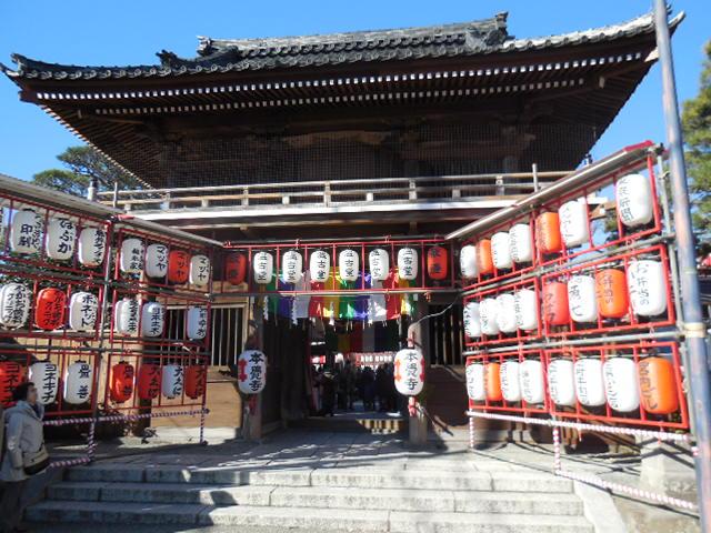 本覚寺 鎌倉えびす!