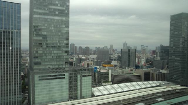 東京駅・・・・21階!