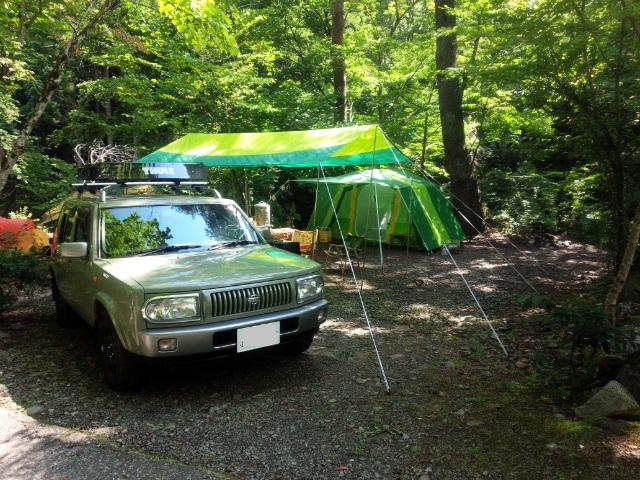 ラシーンとキャンプ!