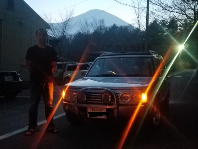 富士山登録納車!