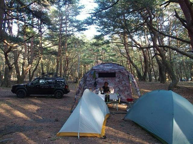 本栖湖誕生日キャンプ!