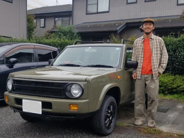 長野県登録納車!