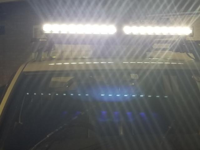 LED恐るべし明るさ!